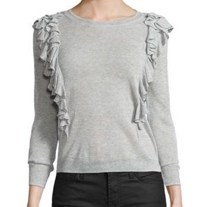 Rebecca Taylor double ruffle sweater